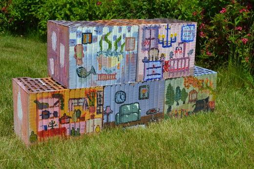 Concurs de pictura pe caramizi la Liceul de Arte Plastice Nicolae Tonitza