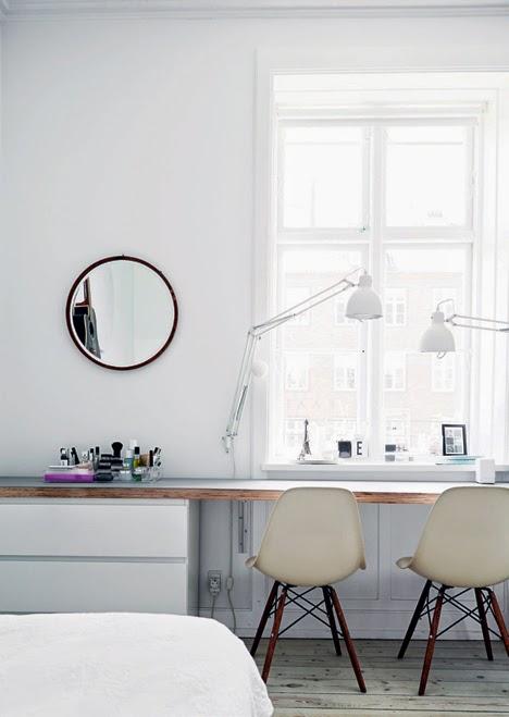 stilul scandinav birou