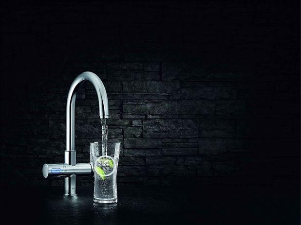 Grohe Blue, apa minerala filtrata direct de la robinetul din bucatarie