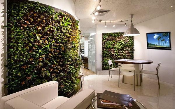 Peretii verzi sau luxuriantele gradini verticale