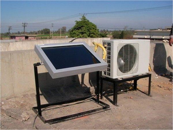 Incalzire/racire gratuit: aer conditionat alimentat 100% cu energie solara