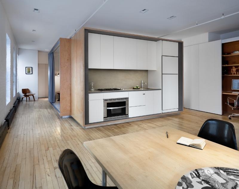 Renovare apartament : spatii private separate simplu si inteligent