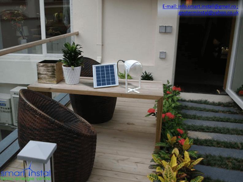 Lampi solare portabile: pentru casa si gradina, dar si pentru vacante active