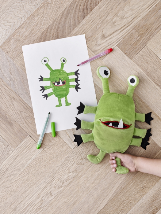 IKEA_monstru_verde