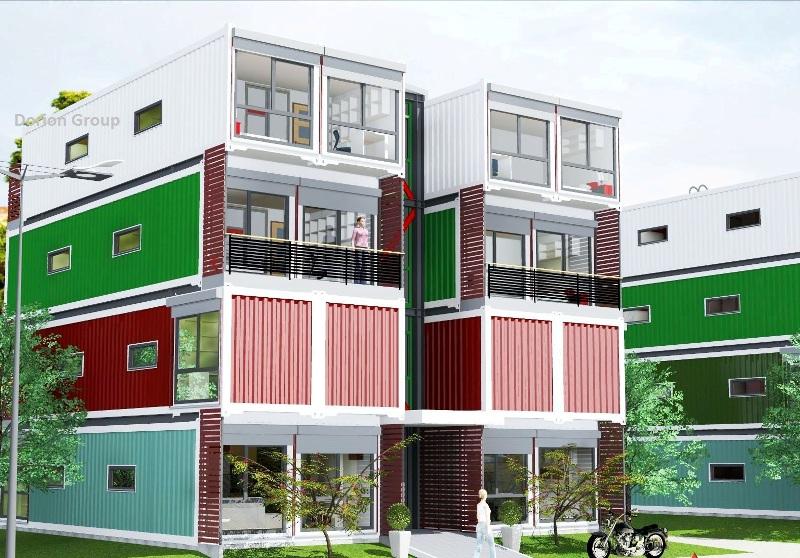 Locuinţe din containere - o soluţie pentru case de vacanţă, amplasamante atipice şi bugete mici