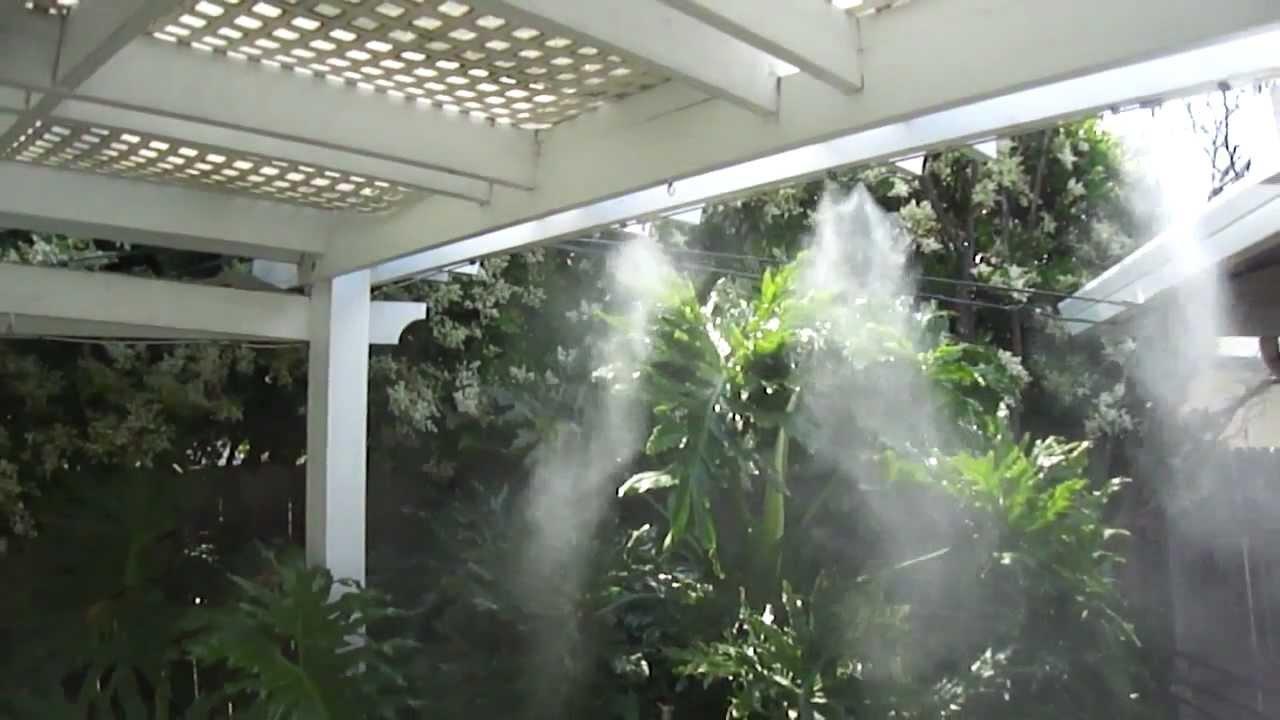 Sisteme de răcire a terasei, pentru confort în zilele fierbinţi de vară