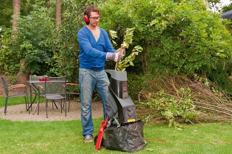 Tocătorul de resturi vegetale, de ajutor pentru o grădină rodnică