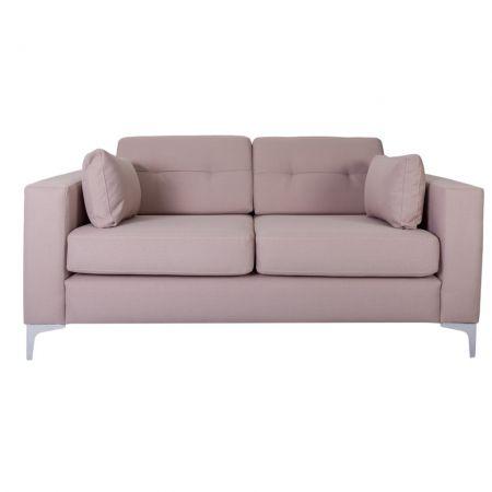 Canapea bej cu 2 locuri