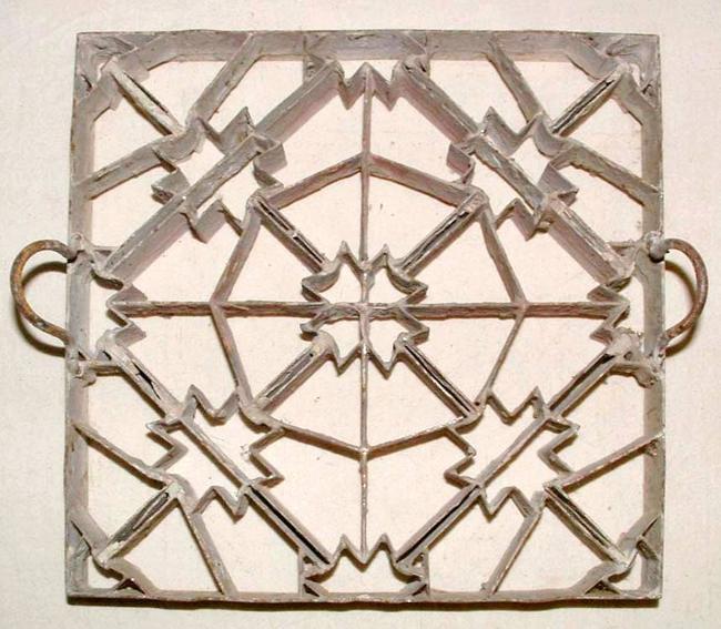 Matrita pentru placa de ciment hidraulic