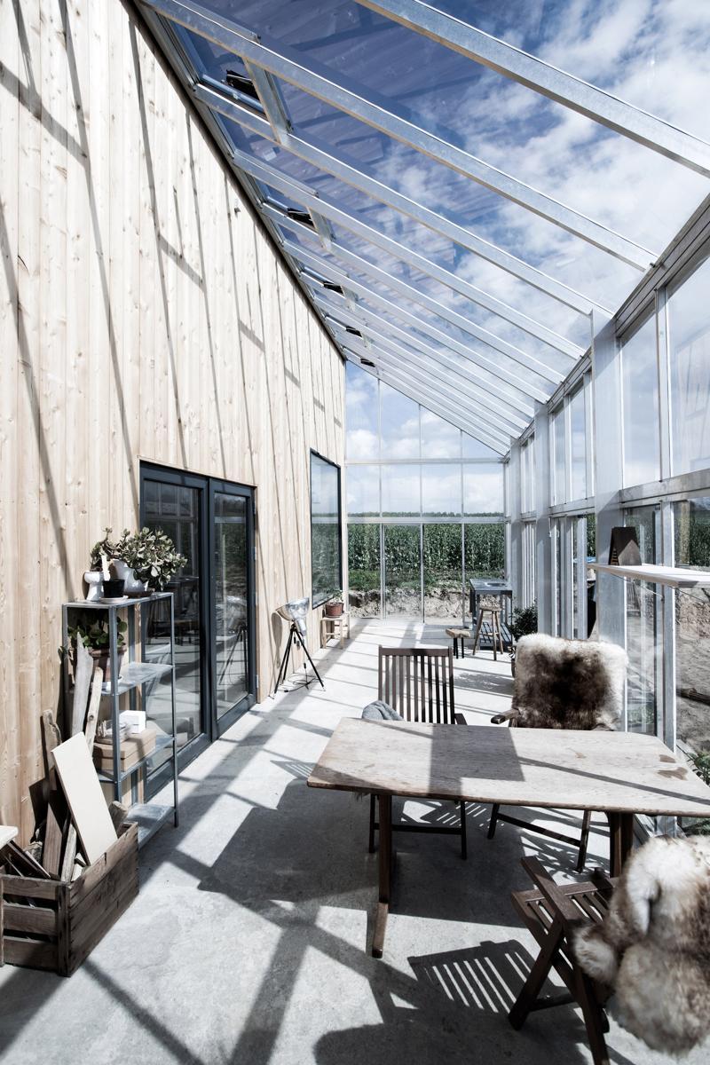 Casa cu seră - o casă sustenabilă de la danezul Sigurd Larsen