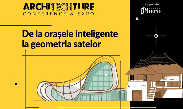 Mai puțin de o lună până la ArchiTECHture Conference & Expo 2017!