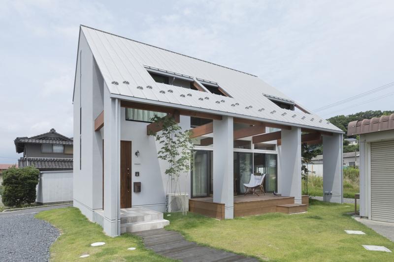 O casă de 108 mp, în care te simţi ca în staţiune