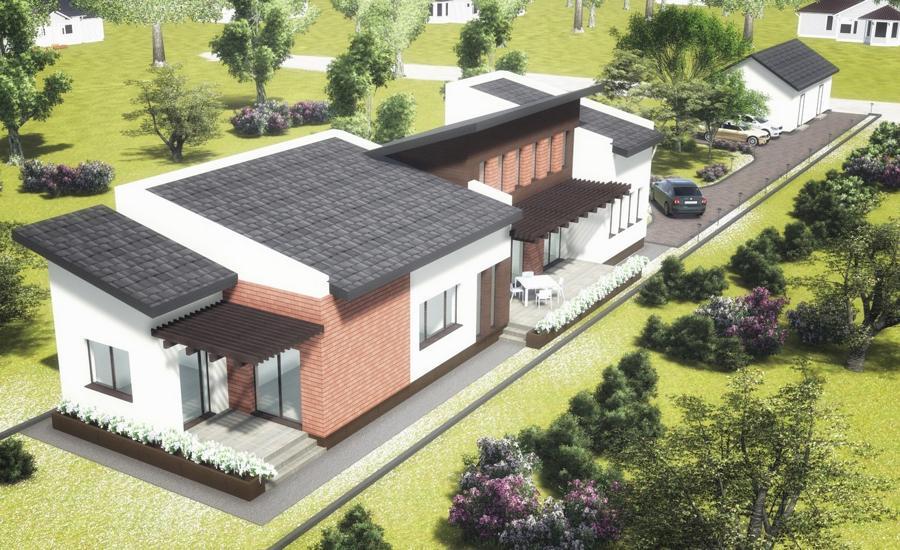 Avantajele unui proiect de casă individuală: exemplu de valorificare a unui teren îngust