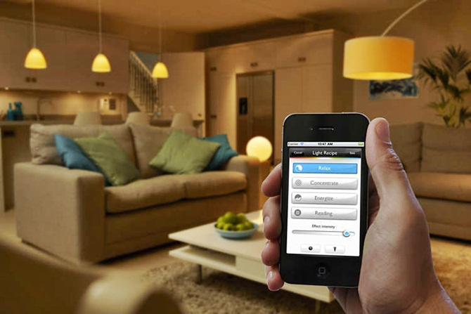 smart home philips hue