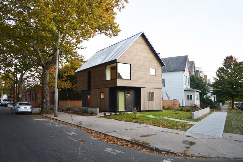O casă cu 3 dormitoare, de 92 mp, cu structură simplă și clară