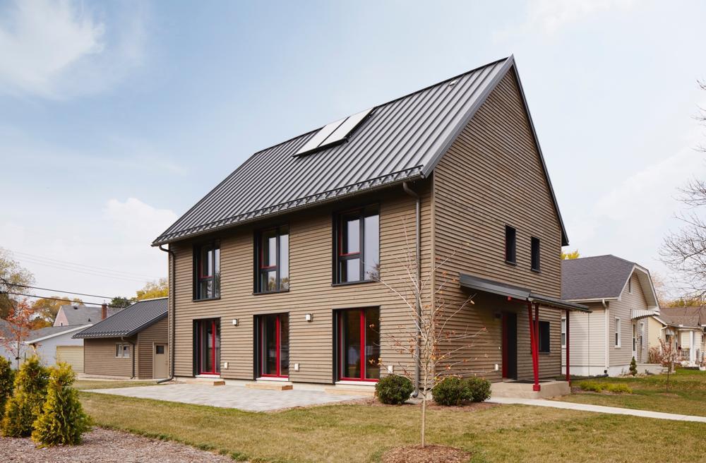 O casă pasivă de 240 mp