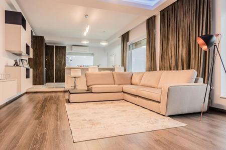 Amenajare modern-minimalistă a unui penthouse de 275 mp din Mamaia