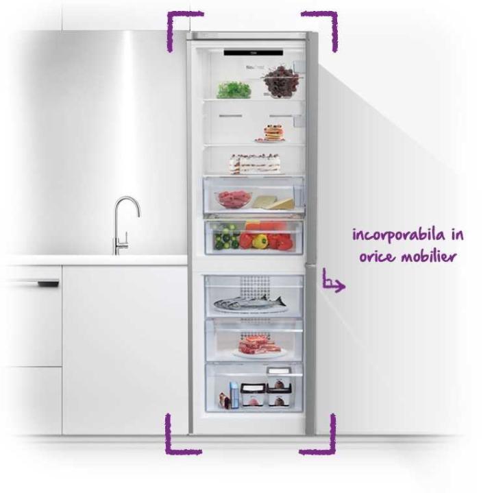 3 modele noi de combine frigorifice Beko Evo Line, cu design Kitchen Fit