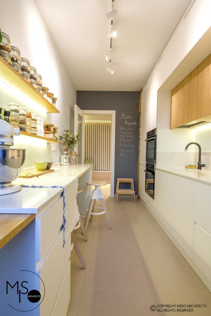 Miso Architects amenajare moderna apartament Bucuresti bucatarie 3