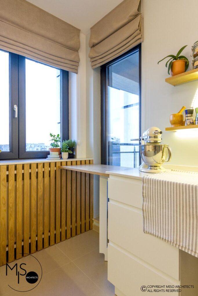 Miso Architects amenajare moderna apartament Bucuresti bucatarie 4