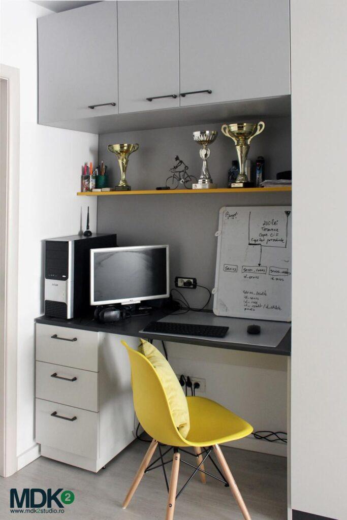 apartament plin de culoare bucuresti mdk2 studio birou 1