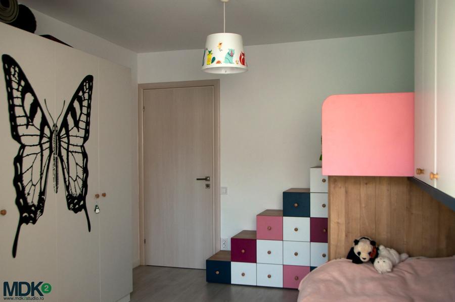 apartament plin de culoare bucuresti mdk2 studio camera fetitelor 3