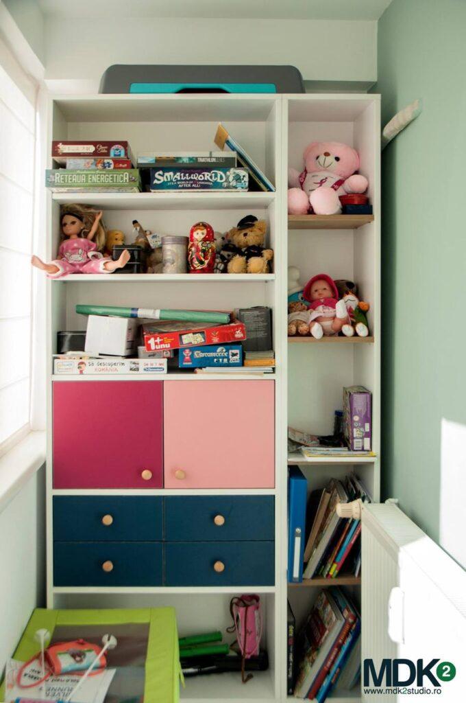 apartament plin de culoare bucuresti mdk2 studio camera fetitelor 5