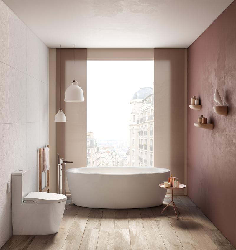 Roca inspira, colectie pentru baie