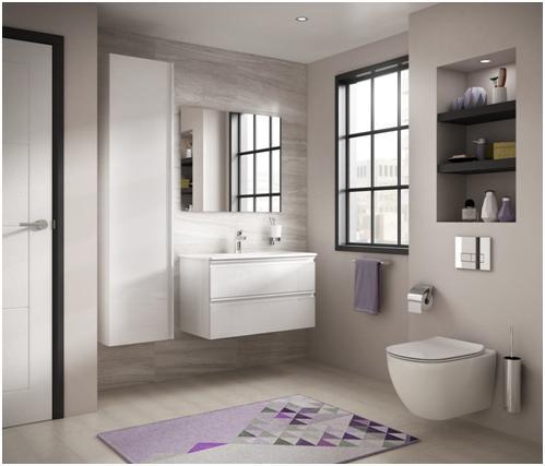 baie simplă și frumoasă
