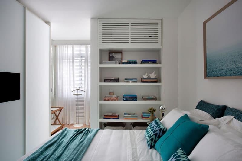 ascunde unitatea interioara de aer conditionat dormitor 3