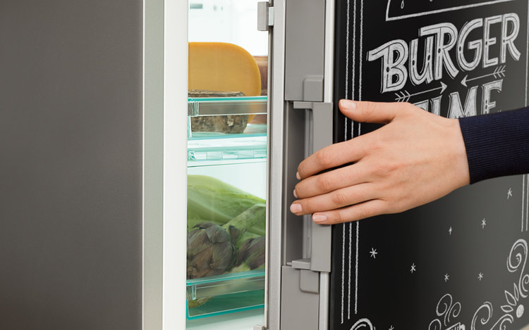 frigider usa neagra