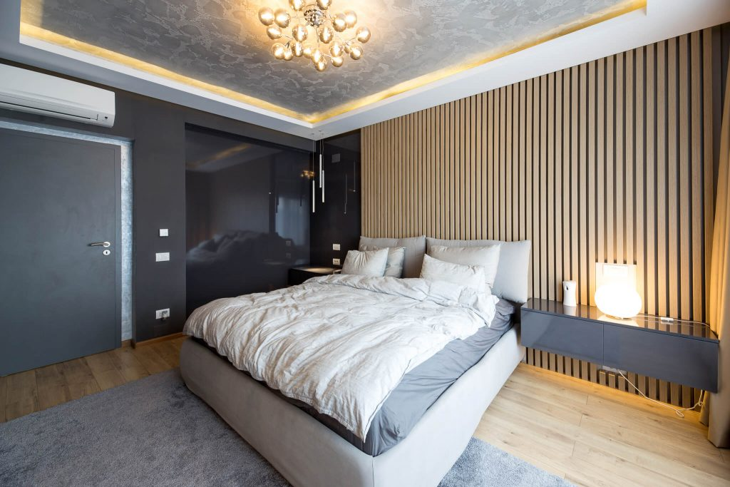 amenajare interioara locuinta unifamiliala dormitor matrimonial