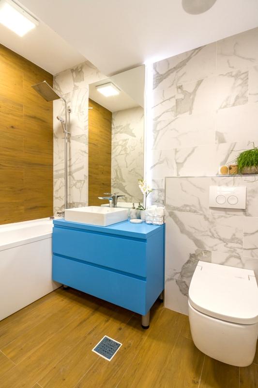 amenajare apartament cu 3 camere baie