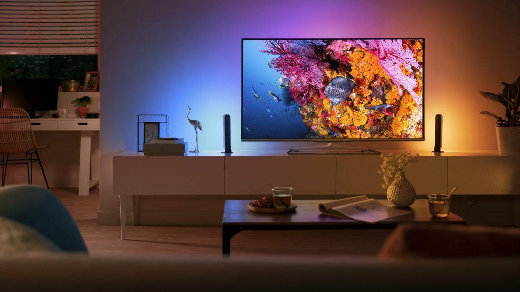 philips hue iluminat interior