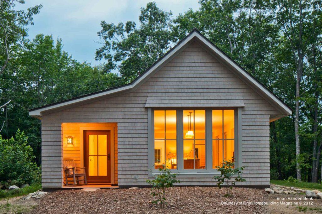 proiecte de case prefabricate House in a Knoll