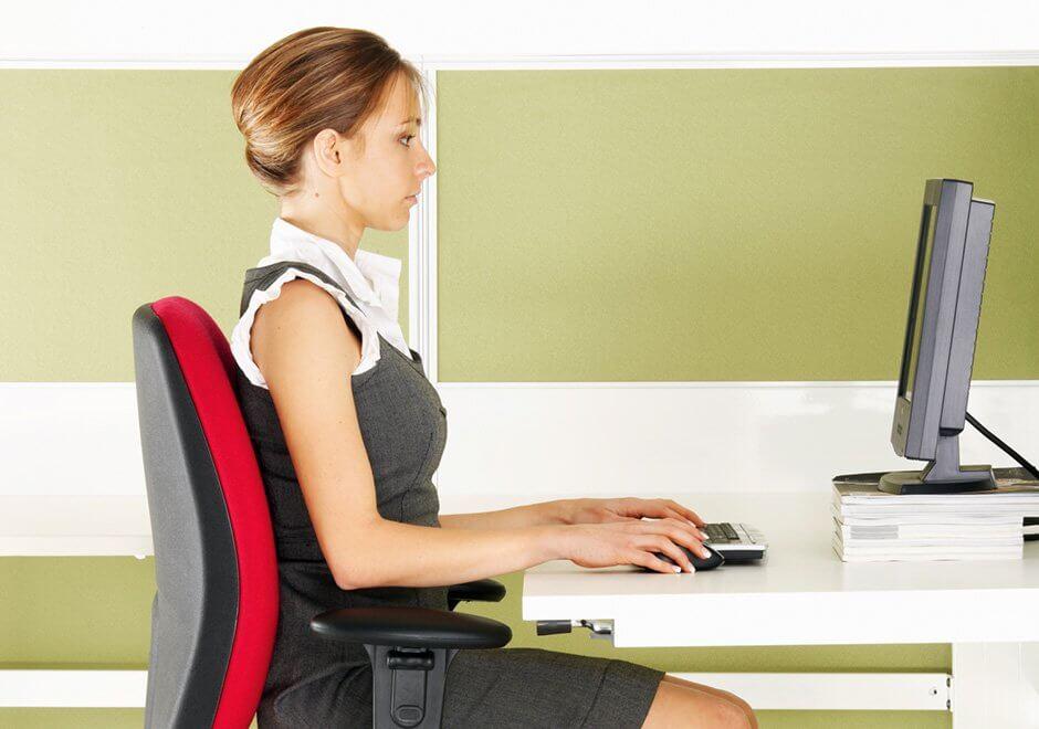 reglajele scaunului de birou