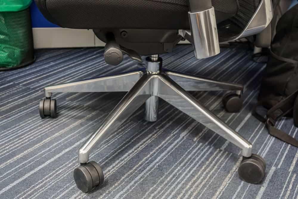 protectie pardoseala roti scaun birou - mocheta trafic greu